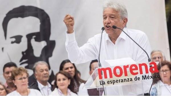 """AMLO cancela gira discute acciones para ayudar a afectados; """"Morena esta con el pueblo mexicano"""""""