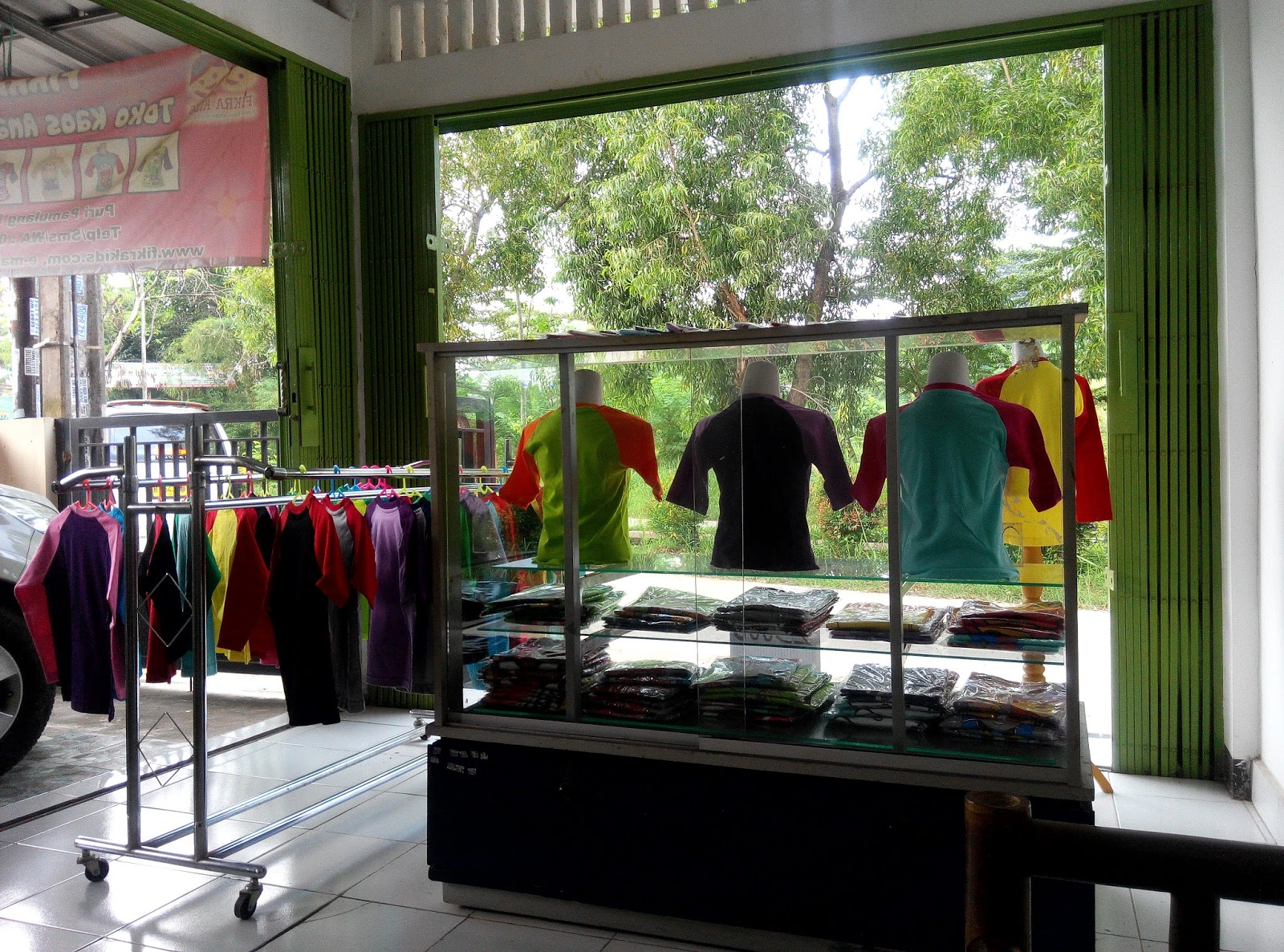 Teka Teki Kehidupan Dari Bisnis ATK Ke Bisnis Kaos Raglan Anak