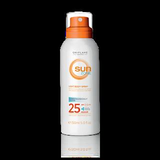 Ανάλαφρο Spray Σώματος με SPF 25 Sun Zone 150ml Κωδικός: 30171 Δίνει Bonus Points 8
