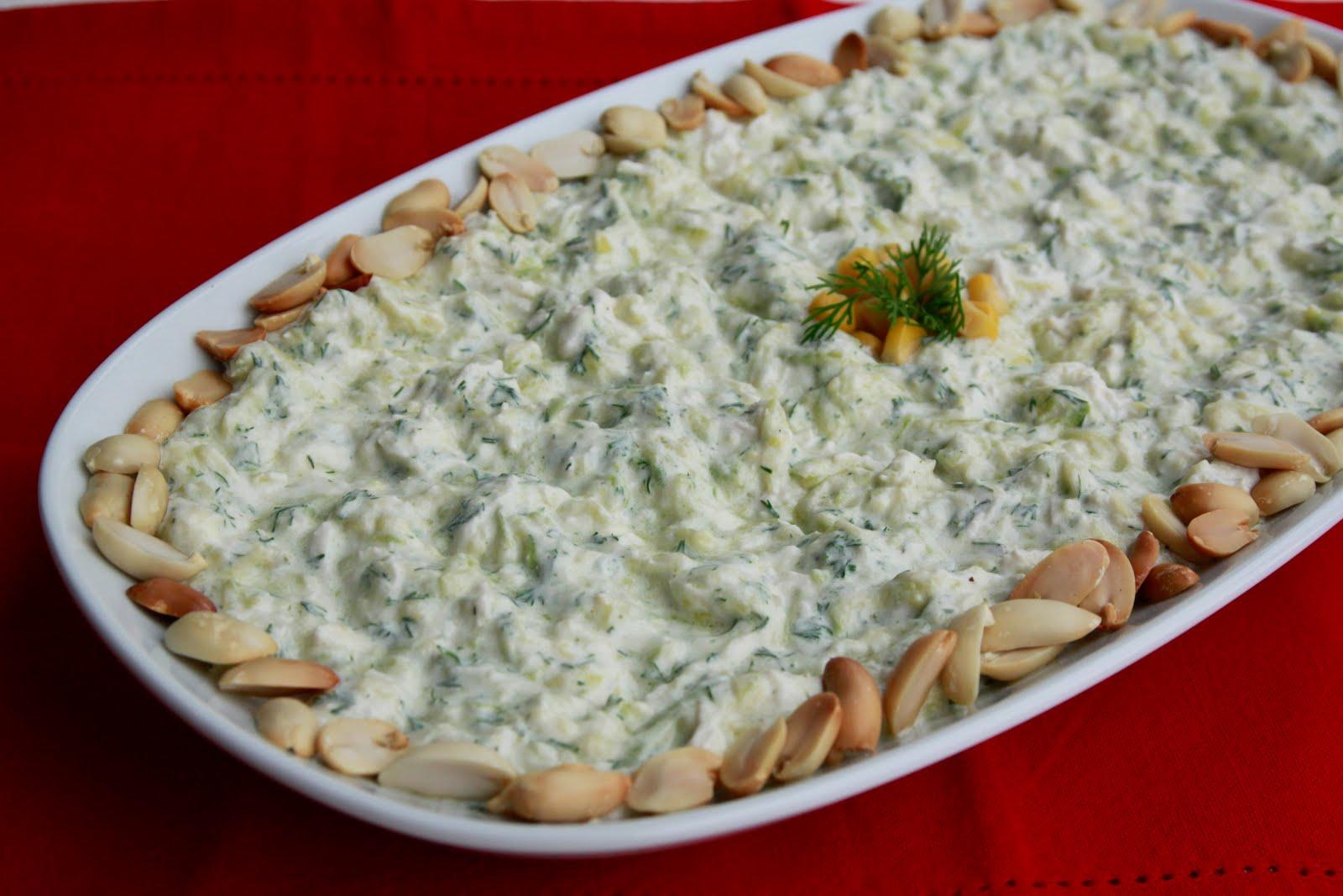 Peynirli Kabak Salatası Tarifi