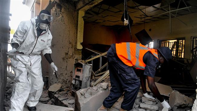 Boko Haram militant group's multiple bomb attacks kill 16 in northeastern Nigeria