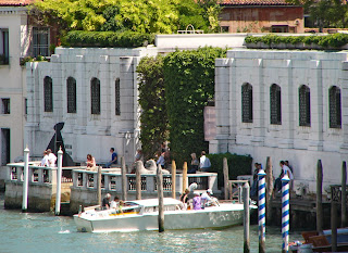 The Peggy Guggenheim Collection in Venice is housed in the Palazzo Venier dei Leoni on the Grand Canal