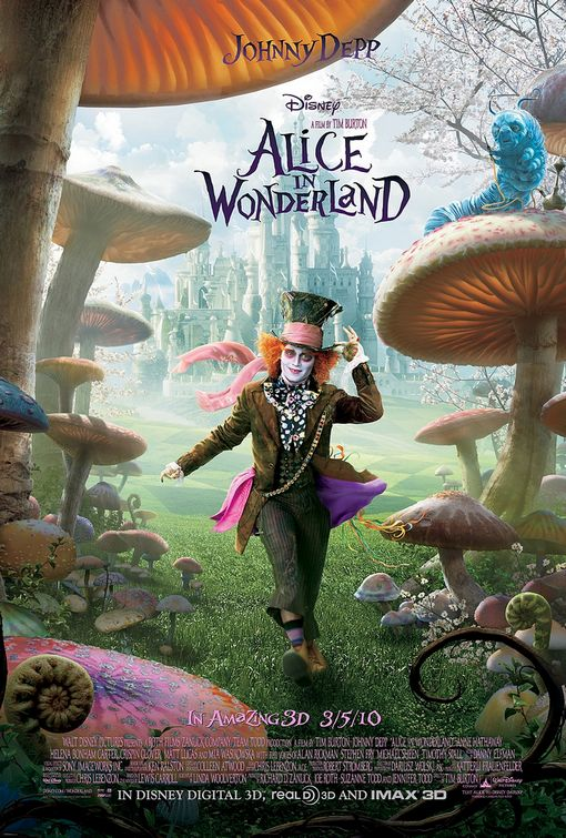 Alice in Wonderland Mad Hatter poster