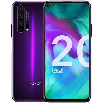 Honor 20 Pro lila