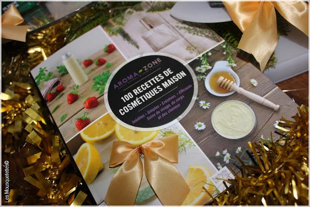 Idées cadeaux beauté pour Noël - Aroma-Zone livre beauté - Les Mousquetettes©