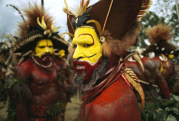 imagen de las tribus de guinea