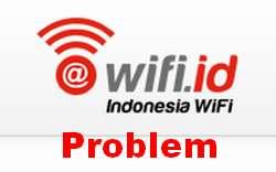 Mengapa WiFi id tidak dapat terhubung Internet ?
