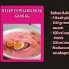 Resep dan Cara Membuat Es Pisang Susu Grabag