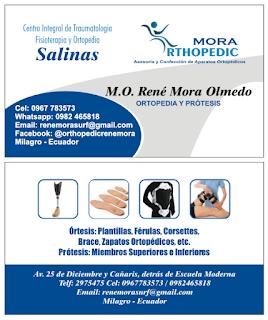Tarjetas de presentación para ortopedistas