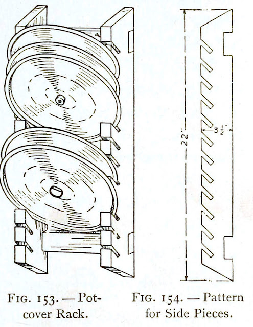 Pot lid organizer rack - Wooden Pot-cover Rack Plans - DIY Projects