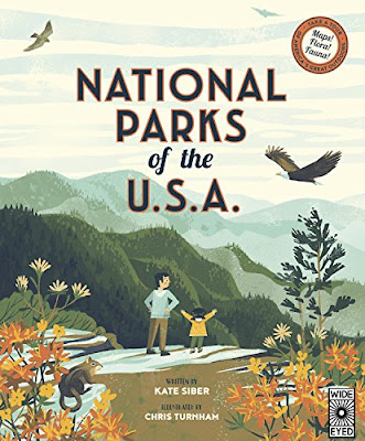 Fact-filled and beautifully illustrated! National Parks of the USA takes you on a tour of the National Parks throughout the country. If you can't visit the parks in person, then this book is a great introduction to the wide range of beauty the United States' offers.  #NationalParksOfTheUsa #NetGalley #PictureBook #Nonfiction #NationalParks