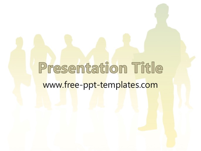 human resources ppt template