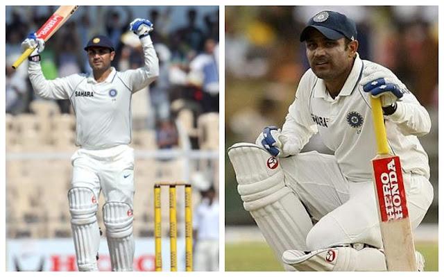 Virendra Sahwag Test Cricket Pics