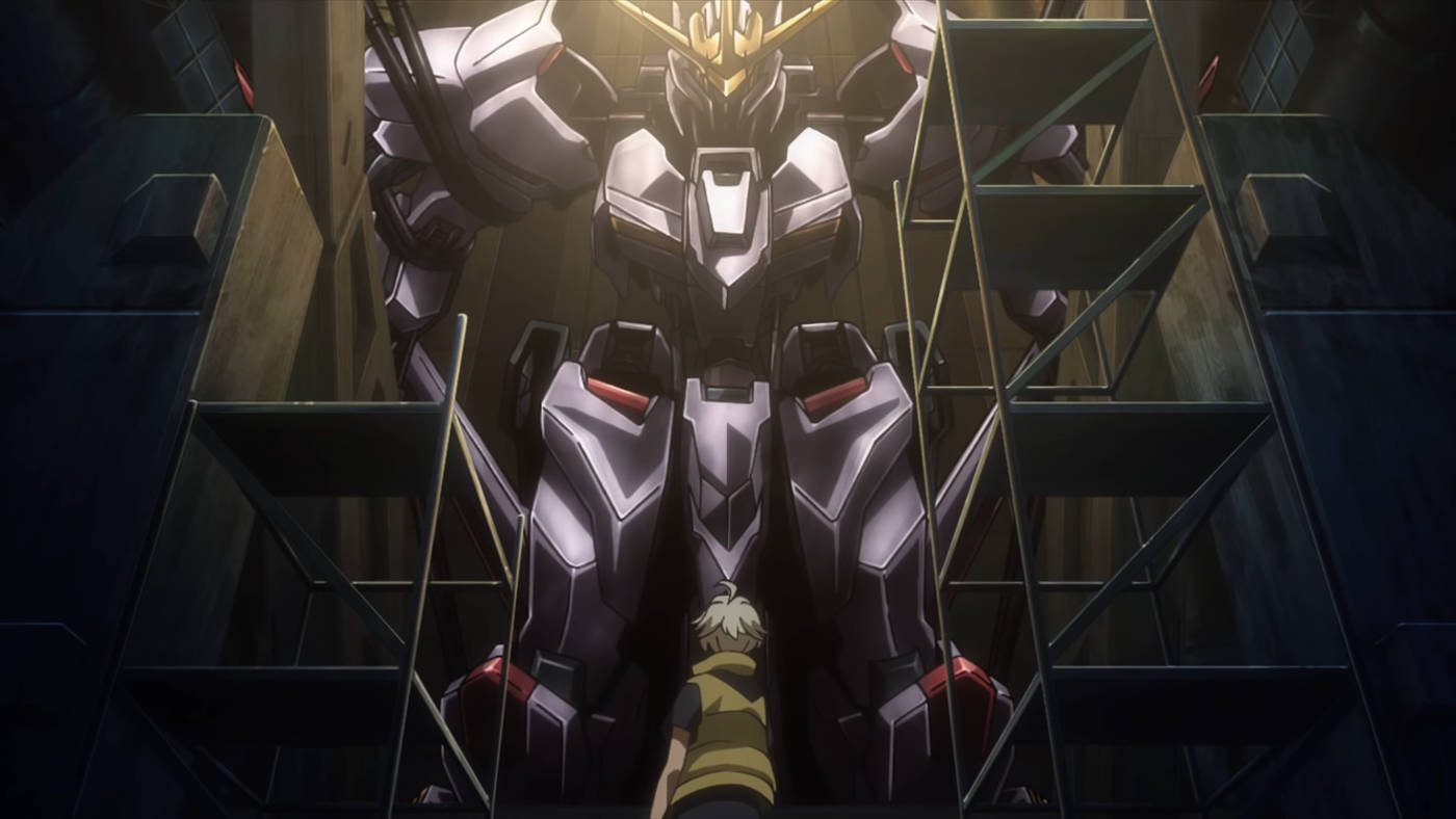 Kadr z Mobile Suit Gundam: Iron-Blooded Orphans - Uror Hunt