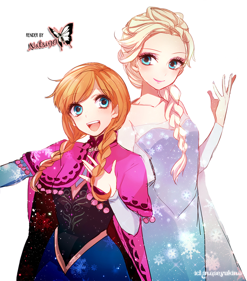 Render Anna y Elsa