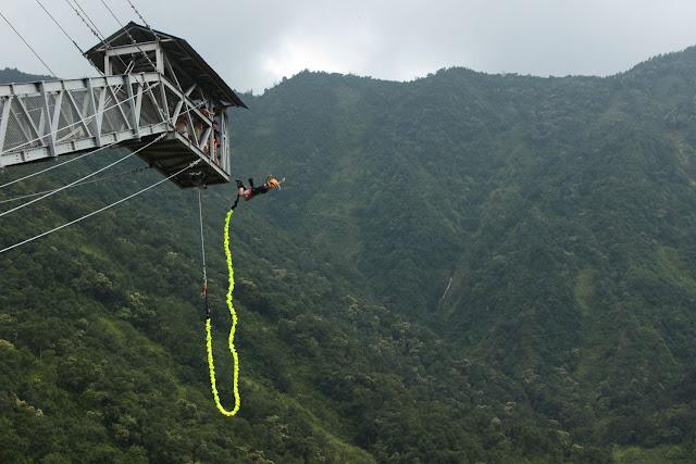 bunjee jump in nepal