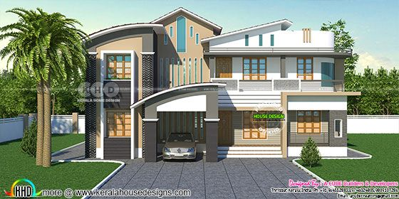 2930 square feet, 4 bedroom home design