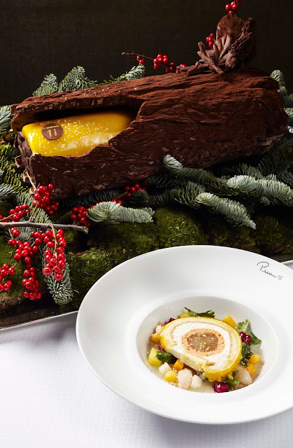 Menu De Noel Grand Chef.Pierre Gagnaire Presents Winter Tasting Menus At Mandarin
