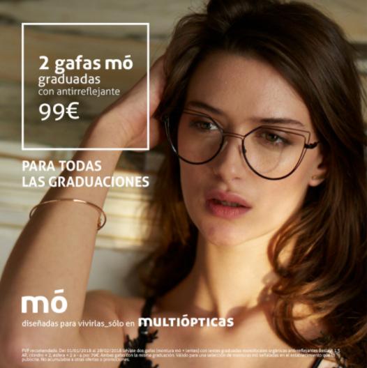 e54ffc4f58 dos gafas graduadas por 99 euros
