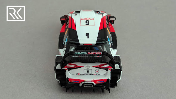 Photo of 1:43 Spark Toyota Yaris WRC model. Driven by Esapekka Lappi and Janne Ferm at Rallye Monte-Carlo 2018