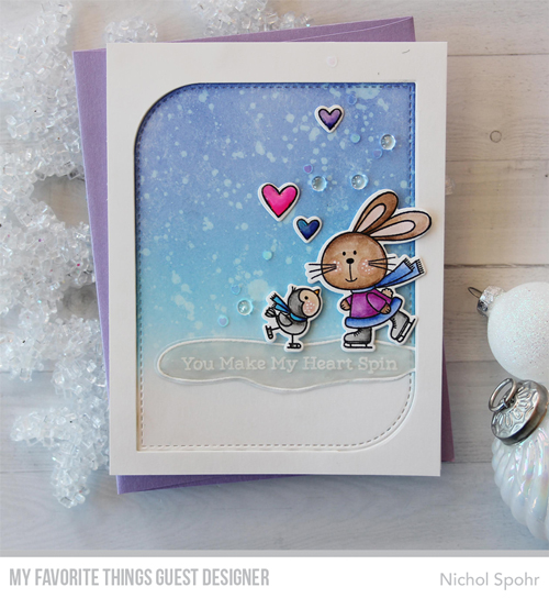 Handmade card by Nichol Spohr featuring products from My Favorite Things #mftstamps