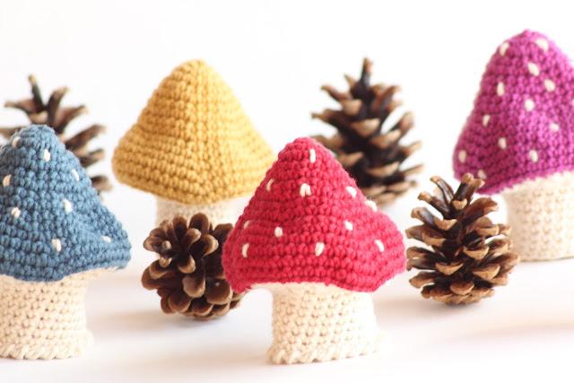 champignon-crocheté