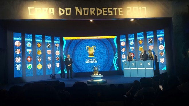 Times Baianos conhecem adversários na fase de grupos da Copa do Nordeste de 2017