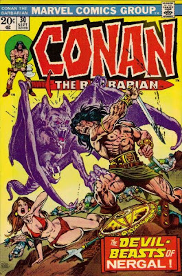 Conan the Barbarian #30, Nergal