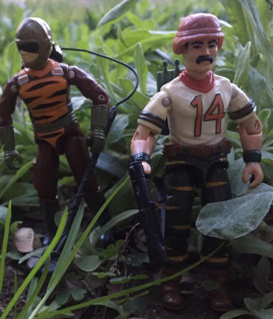 1988 Tiger Force Bazooka, Night Force Crazylegs, 1982 VAMP, Wildcard, Tiger Force Tripwire