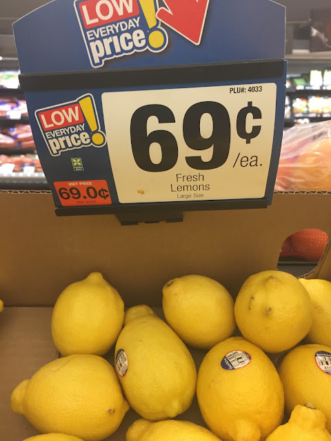 "Produce priced as ""each"""