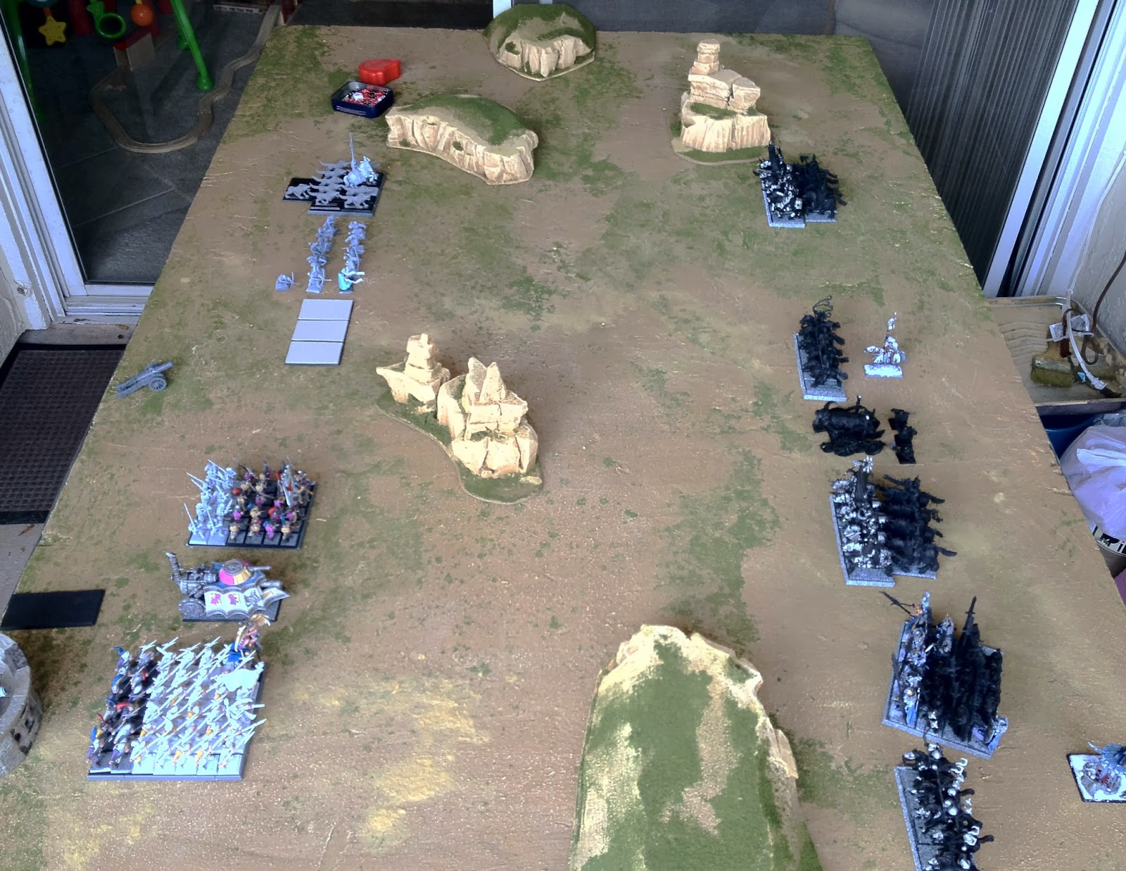 Custom Small World Races and Warhammer Fantasy Campaign