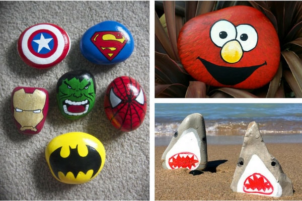 painted rocks that kids will love