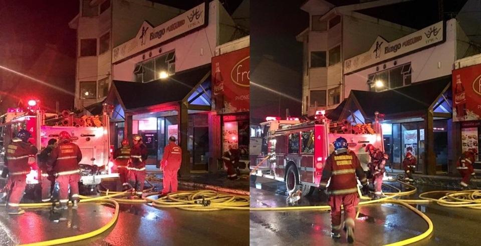 Incendio en el IPRA Ushuaia