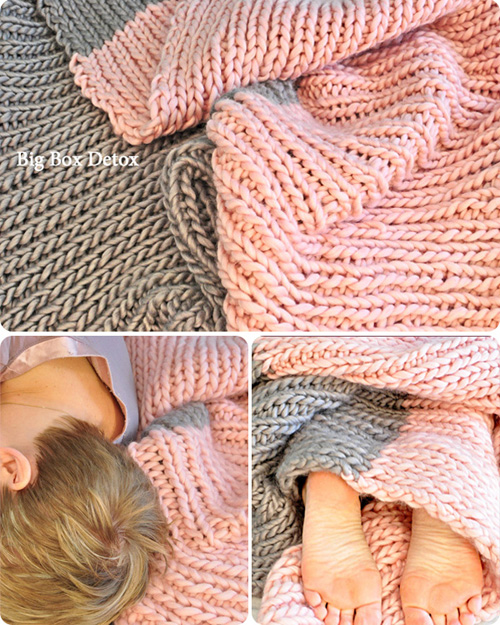 Quickie Blanket - Free Pattern