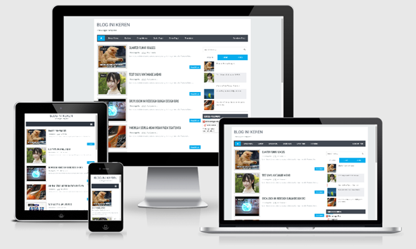 Brovusion Responsive Blogger Template