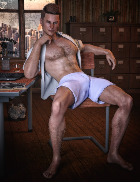 CC Shave This - Body Hair for Genesis 8 Male