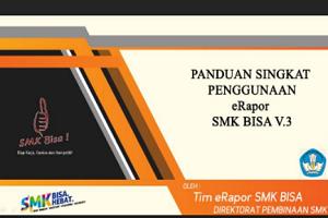 Aplikasi dan Panduan E-Rapor SMK Versi 3.0 Tahun 2017/2018