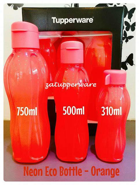 Tupperware Eco Bottle Neon