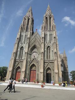 tourist destination in mysore St. Philomena's Cathedral
