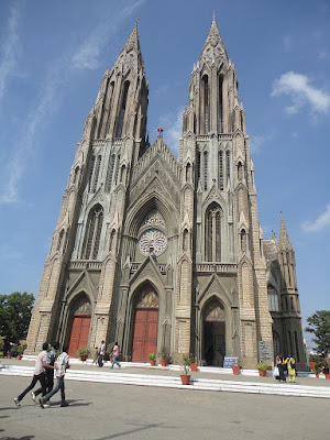tourist destination in mysore St. Philomena's Cathedral