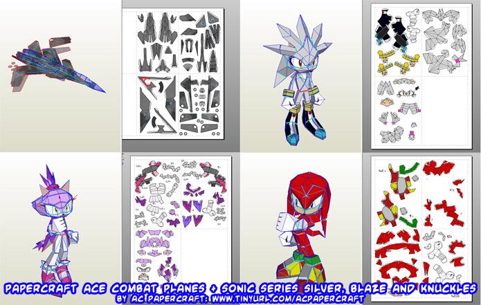 Ninjatoes' papercraft weblog: Papercraft Ace Combat ... - photo #33