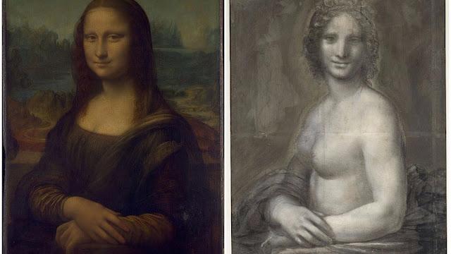 Rascunho de Mona Lisa nua pode ser obra de Leonardo Da Vinci.
