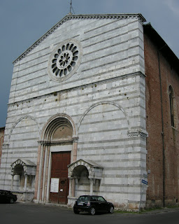 The Church of San Francesco in Lucca, where Boccherini was reburied
