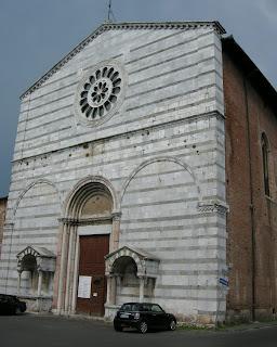 The Church of San Francesco in Lucca, where Boccherini was reburied