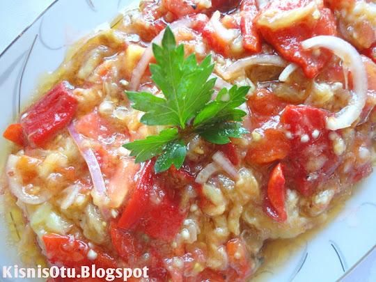 Arnavut, salata, kırmızı biber, patlıcan, salata tarifleri, Arnavut mutfağı,