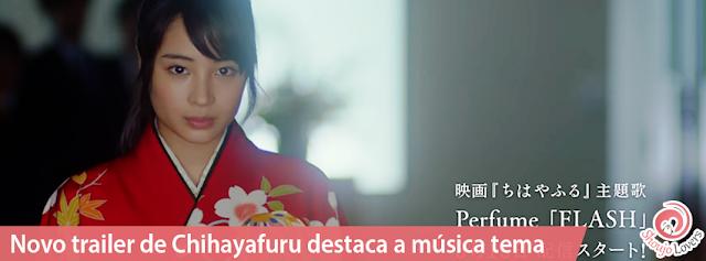 Novo trailer de Chihayafuru destaca a música tema