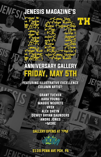 Boom gives a Bang Up Party for Jenesis 10th Anniversary/ 5139 Penn Ave/ (Heart)