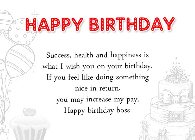 Professional Happy Birthday Quotes: TechOxe: 135+ Birthday Wishes For Boss, Best Quotes