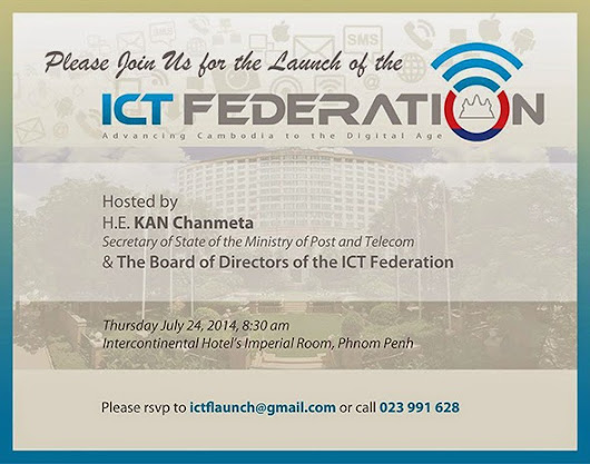 Cambodia's ICT Federation - Advancing Cambodia to the Digital Age