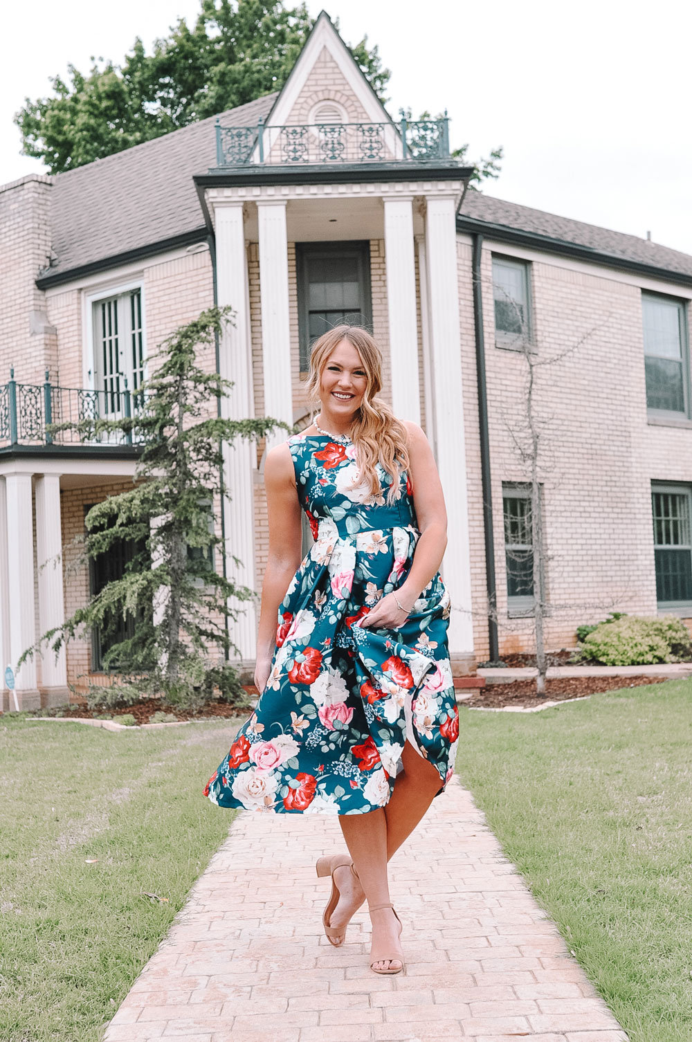 OKC Blogger Amanda's OK Derby Day Outfit